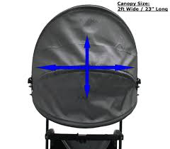 Folding Chair With Canopy Top by Luxury Canopy Top Wheelchair Accessory