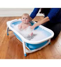 Baby Foldable Bathtub Babyway Karibu Foldable Bath Blue Direct2mum