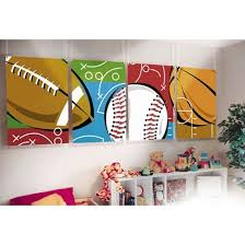 Best Sports Bedroom Decorating Ideas Images On Pinterest - Kids sports room decor