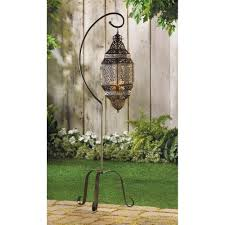 wholesale ornate hanging candle holder wrought iron stand