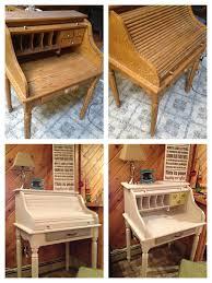Oak Roll Top Secretary Desk by Refurbished Roll Top Desk My Stuff Pinterest Desks Mail