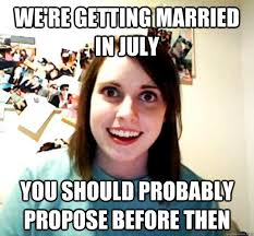 Wedding Proposal Meme - that one time we thought he was proposing our detroit wedding