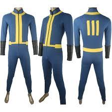 costumes for men fallout 4 sole survivor nora jumpsuit bodysuit suit