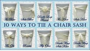chair tie backs chair ties sashes for chairs
