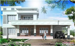 Kerala Home Design Flat Roof Elevation by House Plan Kerala Model Arts