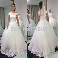 aliexpress com buy ball gown off shoulder wedding dress floor