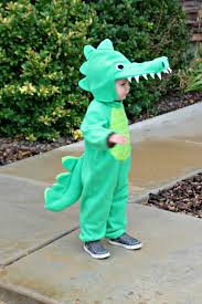 dinosaur halloween costume kids risc handmade toddler alligator costume