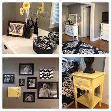 black white and yellow bedroom black and yellow bedroom excellent yellow and grey baby room decor