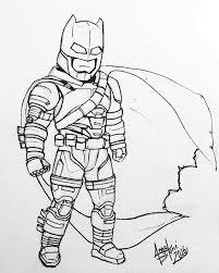 armored batman batman batmanvssuperman armoredbatman sketching