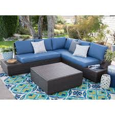 belham living luciana bay all weather wicker loveseats with