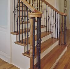 Replacing Banister Replacing Wooden Balusters Wrought Iron Interesting Ideas For Home
