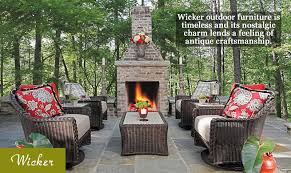 wicker outdoor furniture and patio furniture