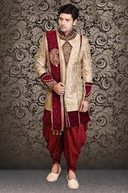 latest 2016 sherwani for groom buy online beige latest dhoti sherwani