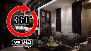 Living Room Design Rendering  Virtual Reality HD Video Peter - Virtual living room design
