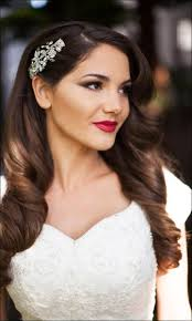 bridal hairstyle for reception bridal hairstyles for medium hair 32 looks trending this season