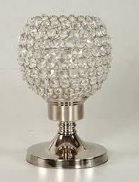 Brass And Crystal Table Lamps Crystal Table Lamps