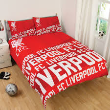 Duvet Cove Liverpool Fc Single And Double Duvet Cover Sets Bedroom Bedding