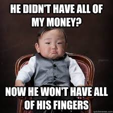 Asian Baby Meme - asian baby godfather memes quickmeme