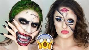Halloween Makeup Clown Faces by Top 10 Diy Halloween Makeup Tutorials Compilation Youtube