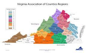county map county websites links virginia association of counties