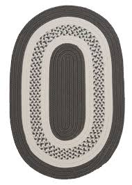 4x4 Area Rugs Cresent Ovals Colonial Mills Braided Area Rugs Indoor