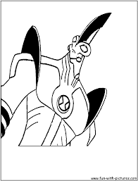 coloring pages ben 10 ultimate alien coloring pages mycoloring