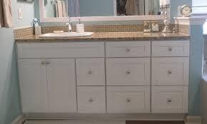 astounding traditional white shaker bathroom vanities rta cabinet