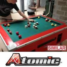 atomic classic bumper pool table pool table legs buy or sell other sport equipment in ontario