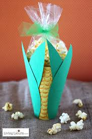 popcorn corn on the cob snack thanksgiving craft
