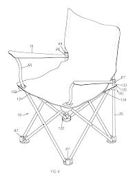 Tofasco Camping Chair by Patent Us6322138 Collapsible Patio Chair Google Patents