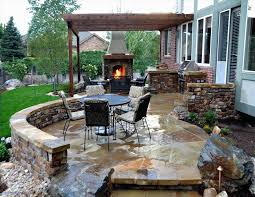Bbq Patio Designs The Images Collection Of Backyard Backyard Patio Ideas With Grill