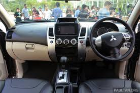 2013 mitsubishi outlander interior mitsubishi pajero sport gl and pajero sport vgt enhanced for 2013
