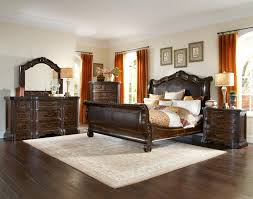 Dark Oak Furniture Buy Valencia King Sleigh Bed By Art From Www Mmfurniture Com