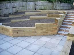 landscape timber designs for sloping yards portfolio click a