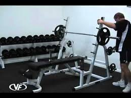Squat Rack And Bench Valor Athletics Bd 6 Bench Press Rack And Squat Rack Combo Youtube