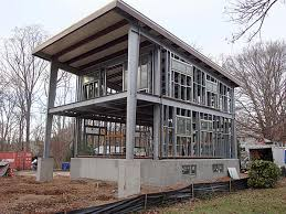modern a frame house plans ecosteel prefab homes green building steel framed houses image