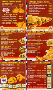 alum prices menu at chicken cottage 125 alum rock rd restaurant prices