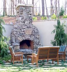 Backyard Fireplaces Ideas Fire Rock Outdoor Fireplaces Patio Town