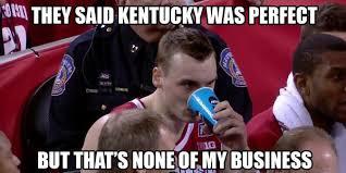Wisconsin Meme - 21 best memes of wisconsin ruining kentucky s perfect season sportige