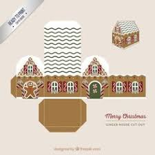 mini gingerbread house printable lugares para visitar
