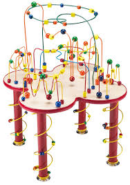 wooden bead toy table ultimate fleur rollercoaster table by anatex wire and bead