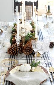gorgeous transitional table decor between thanksgiving