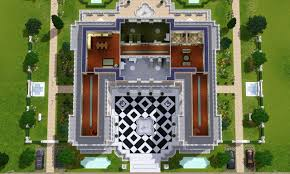Symmetrical House Plans Mod The Sims Versaillesque A Summer Palace