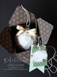 nutmeg creations gift box and ornaments stin up artisan