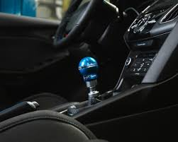 agency power 6speed aluminum shift knob blue ford focus rs focus