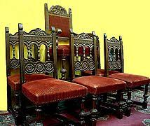 Gothic Dining Room Furniture Malcolm Furniture Walnut Set Of 6 Antique Dining Room Chairs Sold