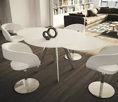 white round extendable dining table and chairs interior alluring white round extending dining table 8 opulent