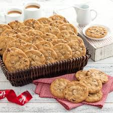 cookie baskets mrs fields classic chocolate chip cookie basket