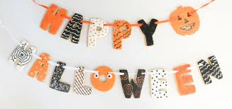 How To Make Halloween Sugar Cookies by A Kailo Chic Life Make It An Edible Sugar Cookie Banner