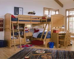 triple bunk beds for kids modern bunk beds design